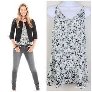 NWOT CAbi Moody Floral Terrace Cami Size S #5212